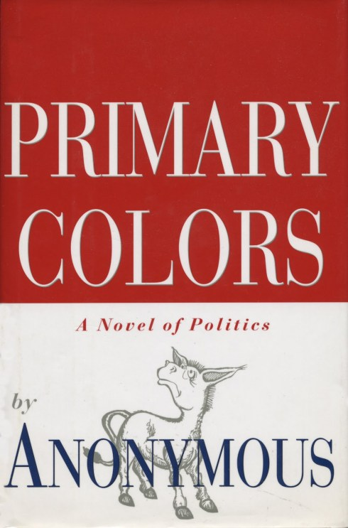 Pseudonyms Primary Colors
