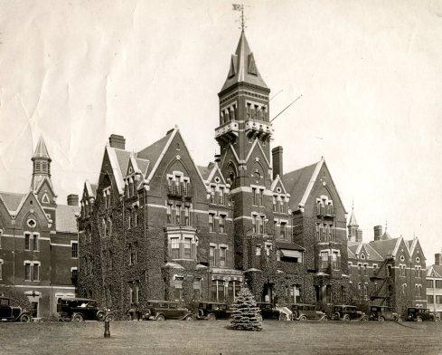 Abandoned Asylum Danvers 1930s