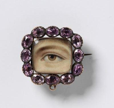 Eye brooch 1800 V and A