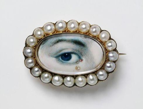 eye miniature V and A