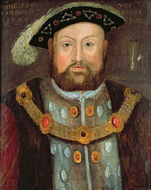 Ginger Henry VIII