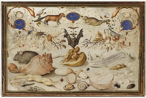 Hoefnagel Allegory of Winter Louvre