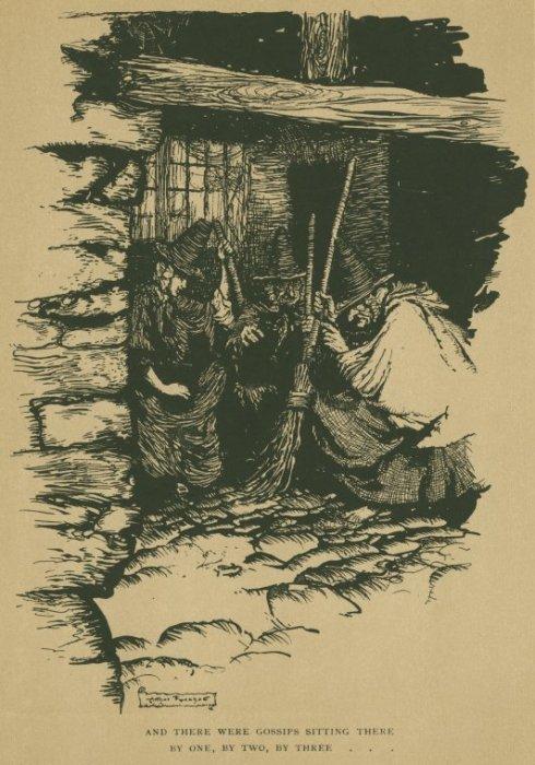 Three Witches Rackham1911