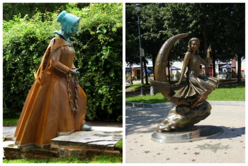 Witchcraft Statues