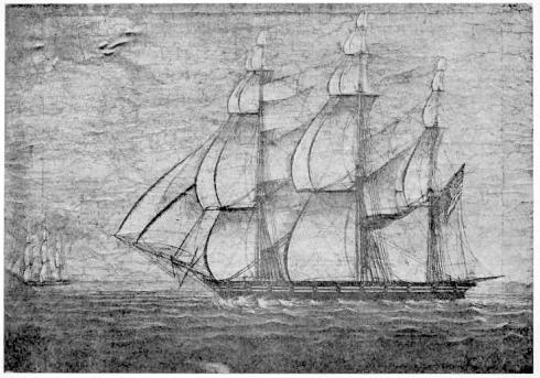 America Princess Elizabeth 1815 Ropes