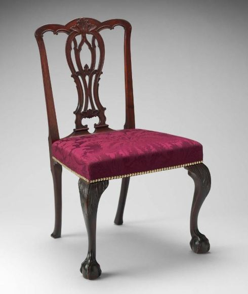 Chair Chippendale Boston MFA