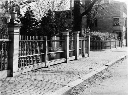 Fence Phippen House Salem MA