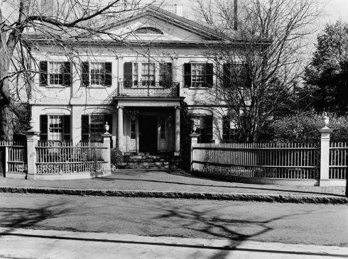 Fence Phippen House Salem