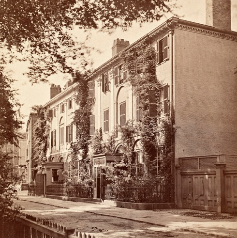 Rowhouses 1850s franklin tontine crescent bpl