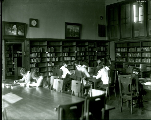 SSU Sullivan Building Library 1920s