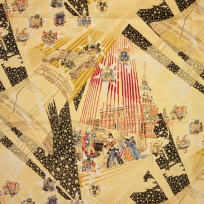 Mallinson fabric