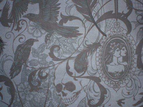 Poe Gothic Pillow