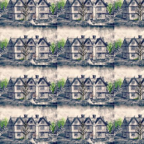 Salem Spoonflower Fabric
