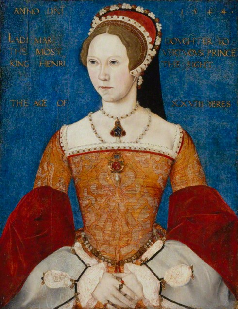 NPG 428; Queen Mary I by Master John