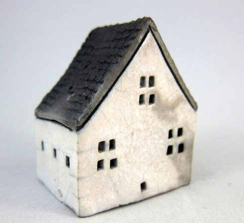 Ceramic City White Cottage