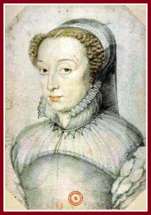 Alchermes Catherine Francois Clouet 1560 border