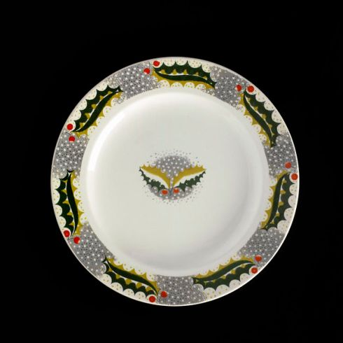 Christmas Pudding Plate 2