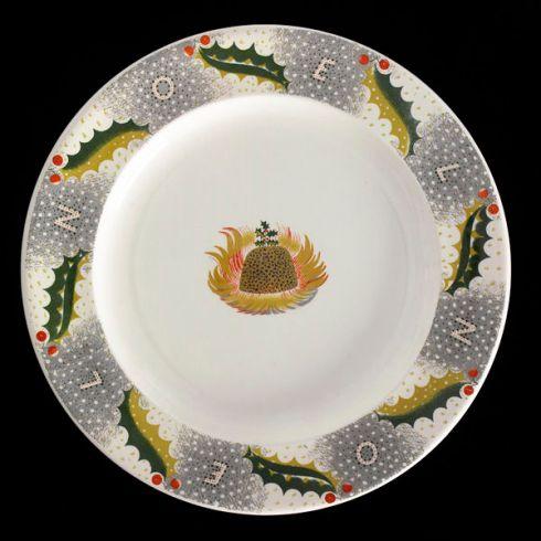 Christmas Pudding Plate