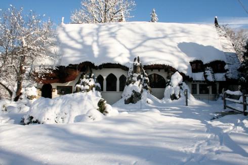 Santarella in snow
