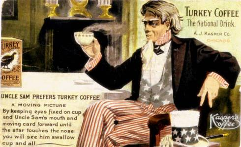 Trade Card Uncle Sam