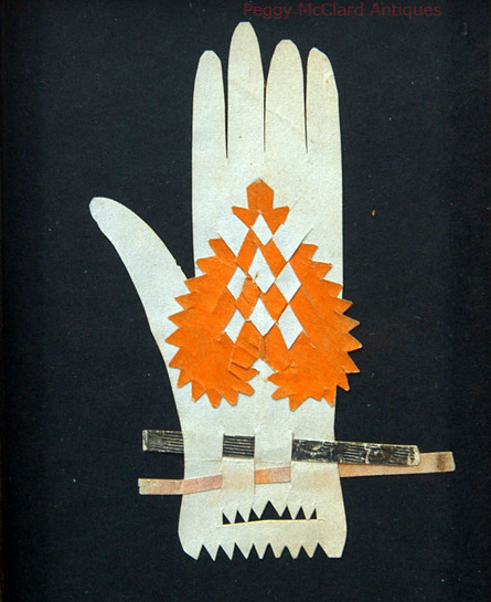 Heart in Hand Folk Art