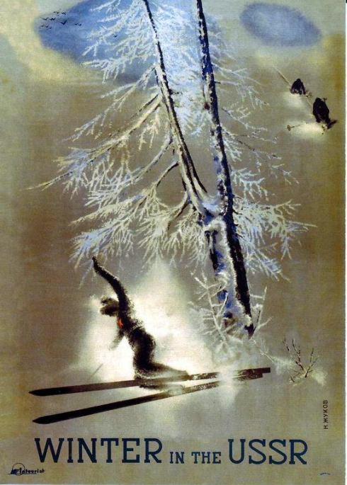 Soviet Poster Winter BPL
