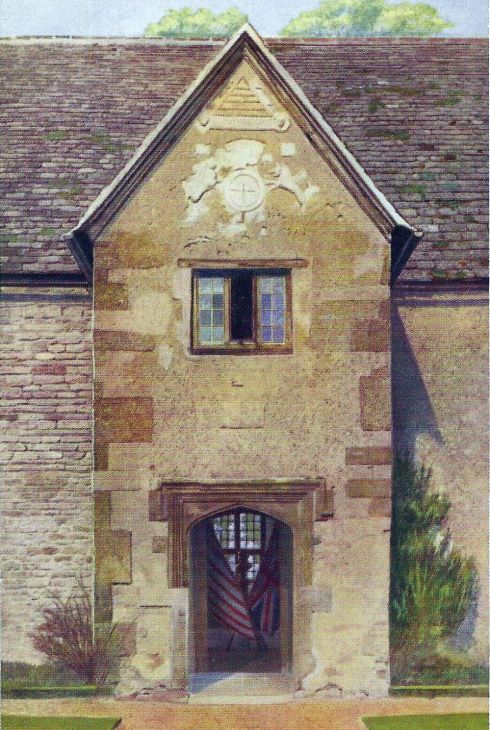 Sulgrave Manor Entrance pc