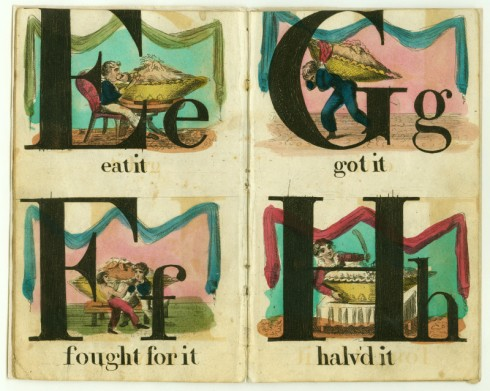 Alphabet Royal 1822