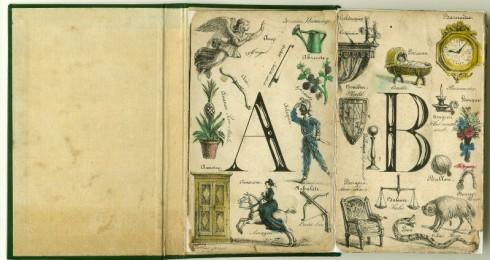 Alphabet Universel Anglais et Francais 1830