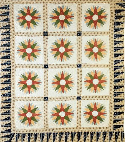 Compass Quilt NE Auctions
