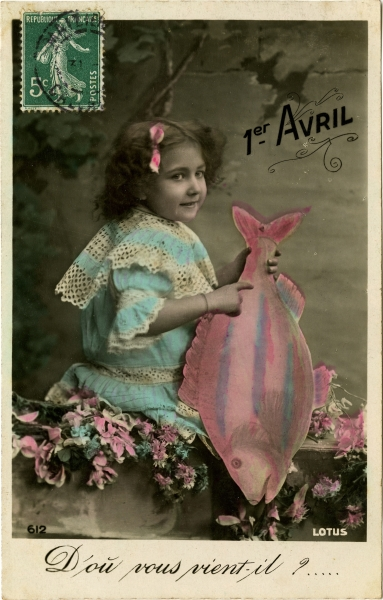 April Fool's Day (coloured photo)