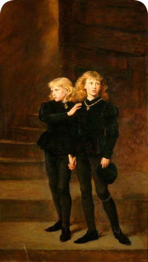 Princes in the Tower Millais