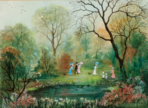 Enchanted Garden Bradley