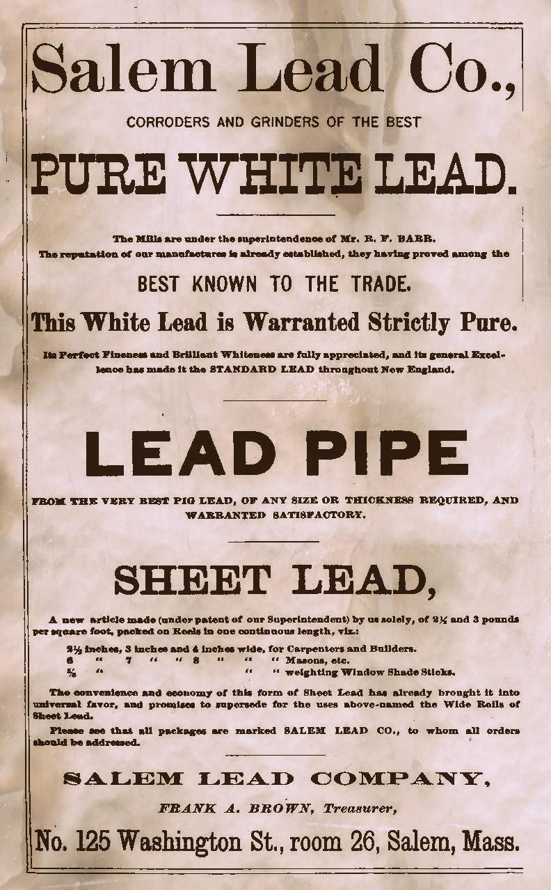 Unleaded ad Salem Directory 1886
