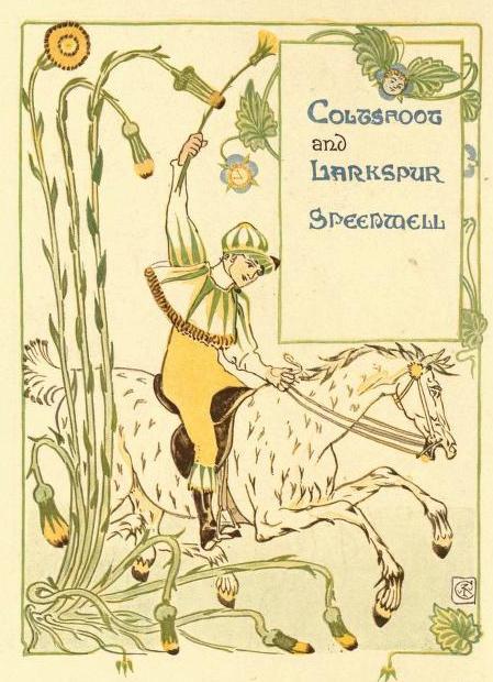 Coltsfoot Floral Fantasy Crane