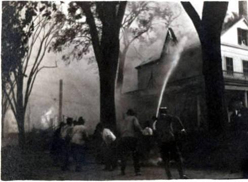 Firefighting Margin Street