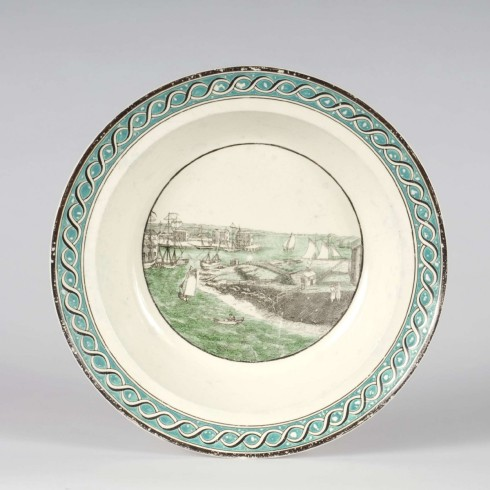 Salem Harbor Plate