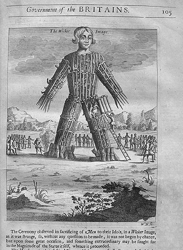 how to build a wicker man