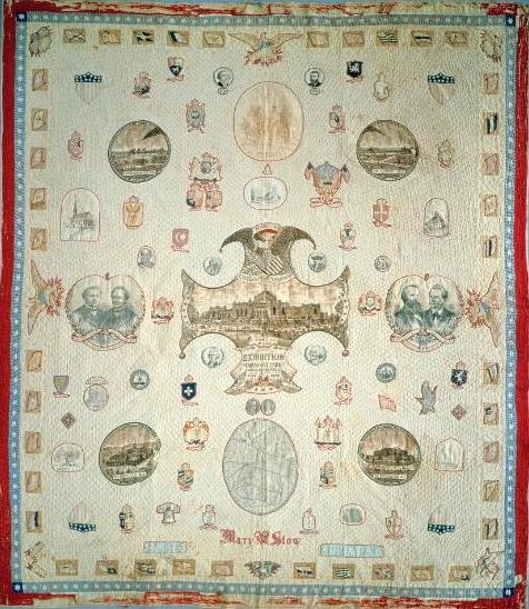 Fabric Quilt smithsonian stow