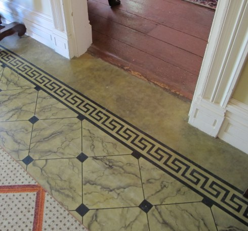 Floorcloth Crawford House BIG OLD HOUSES
