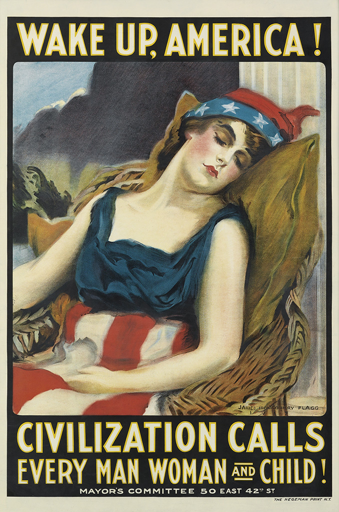 Another Pro-War poster for World War One