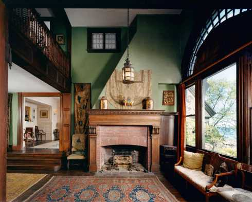 Loring House Interior Rosenthal