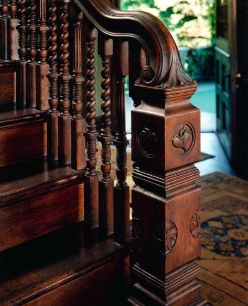 Loring House Rosenthal Stair