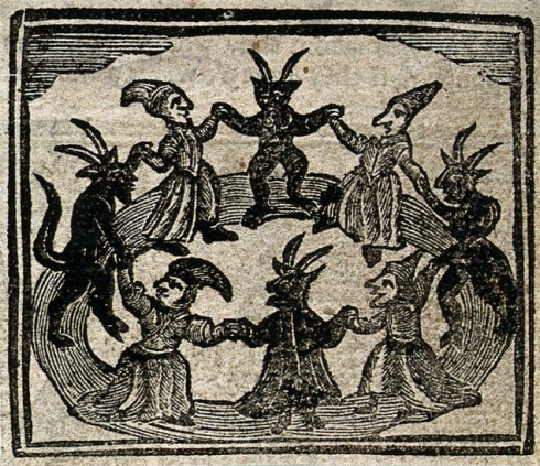 Witches Dance 1720 Wellcome Library