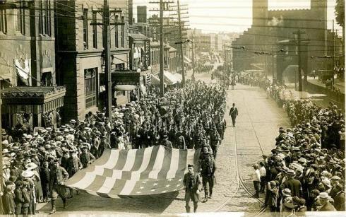 Armistice Day 1919 SSU Dionne