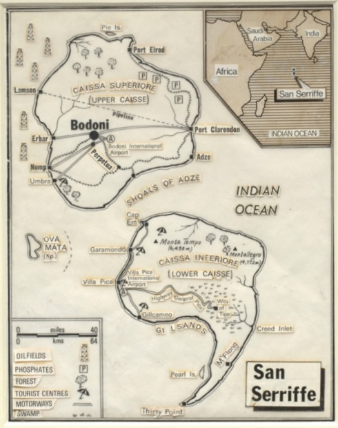 Map April Fool 1977