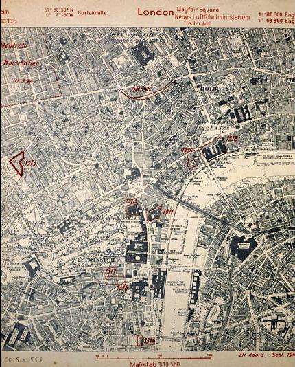 Map Blitz 1940