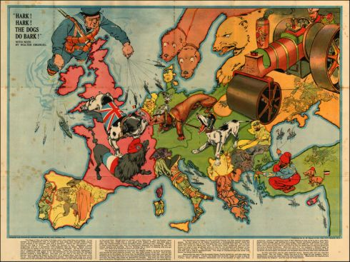 Map Dogs 1914