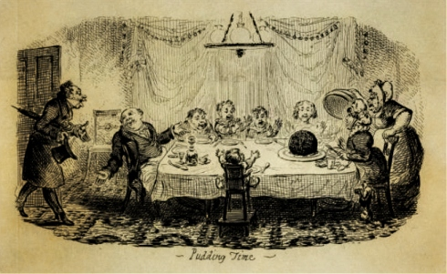 Pudding Time Cruikshank
