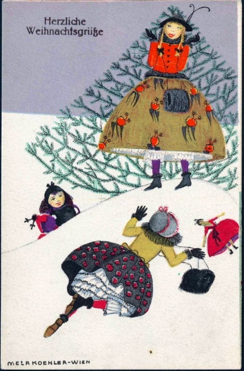 Christmas Koehler Card MFA 2